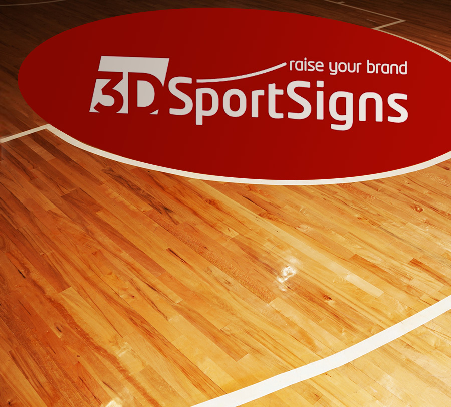 3D sports stickers